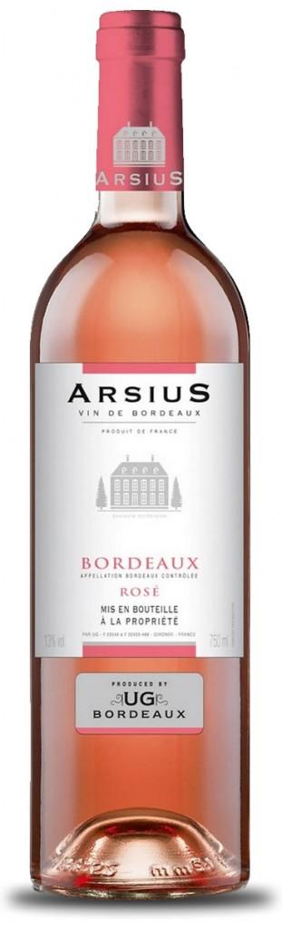 Arsius - AOC Bordeaux Rosé