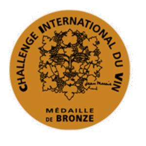 """Résultat de recherche d'images pour """"challenge international des vins 2018 bronze"""""""